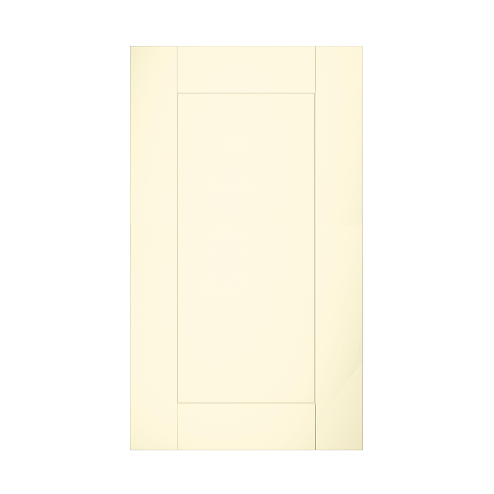 Cream Kitchen Doors: Vinyl Shaker Ivory Cream Kitchen Units & Doors NEW (Unit
